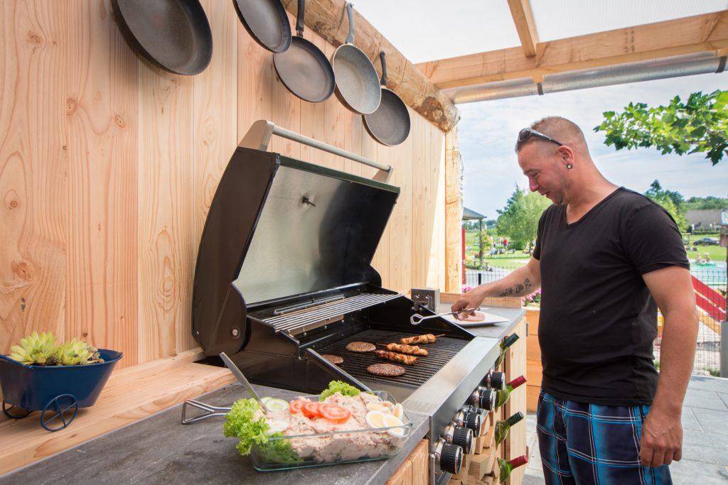 Familiedag barbecue