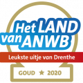 Leukste uitje van Drenthe award goud ANWB
