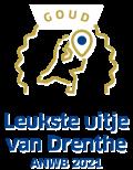 Award Leukste uitje van Drenthe ANWB 2021